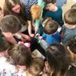 Children Bury the Alleluias to understand Lent