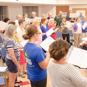 Adult Choir II Rehearsal